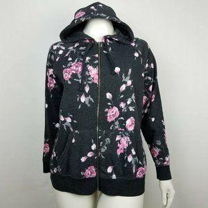 Torrid Hoodie Sweatshirt Floral Plus Size 3X